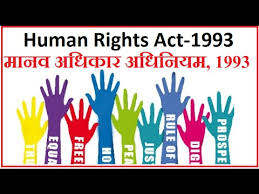 The Protection of Human Rights Act, 1993